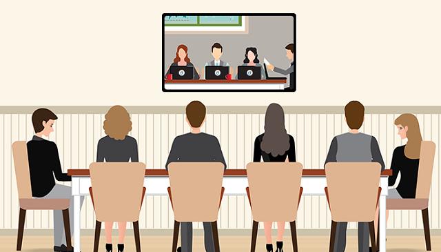 Định nghĩa hội nghị truyền hình - họp trực tuyến
