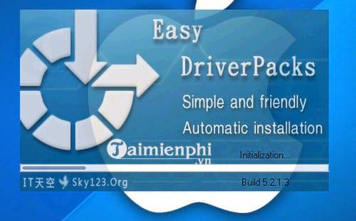 Giao diện phần mềm Easy DriverPacks