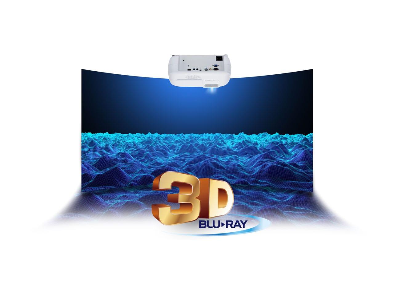 Hỗ trợ trình chiếu 3D trên ViewSonic PS501X